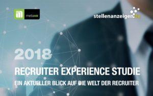 Recruiter Experience Studie 2018